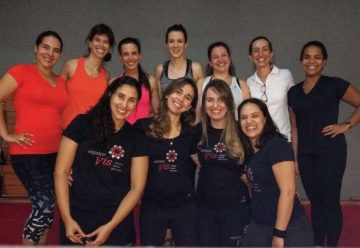 Instrutores de Pilates no 1º Open Vis