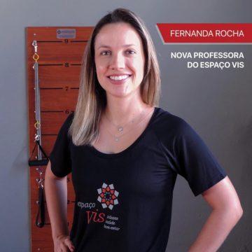 Nova instrutora de Pilates no Espaço Vis