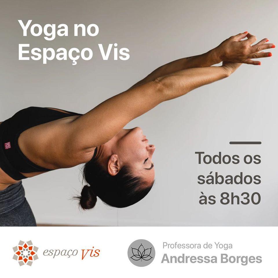 Aulas de Yoga no Espaço Vis